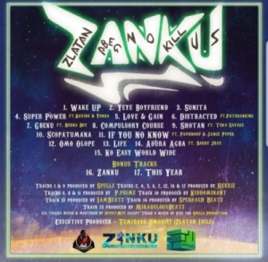 """Zlatan Pens Emotional Message To Fans As He Drops Tracklist To Forthcoming Album; """"Zanku"""""""